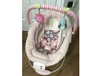 Bright Starts Comfort And Harmony Bouncer Pink