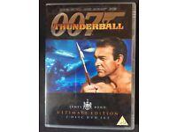 007 James Bond: Thunderball Ultimate Edition - 2 Disc Set DVD