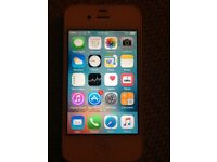 White iPhone 4s 32gb o2 pay &go