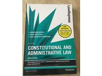 CONSTITUTIONAL AND ADMINISTRATIVE LAW (PUBLIC LAW), Law Express by Chris Taylor