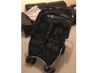 Double buggy - red kite. Immaculate condition £100