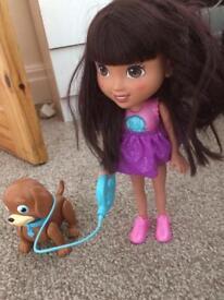 dora and dog