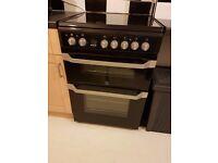 Indesit Electric Ceramic Cooker (Black) ID60C2KS