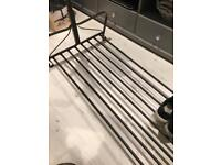 Large Ikea study strong clothes hanging rail