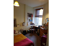 Double room in a 2 bed flat share / Gorgie