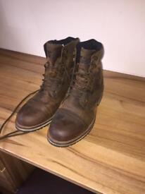 Furygen Caprino Motorbike Leather Boots