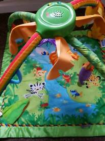 Fisher-Price Rainforest Gym Playmat