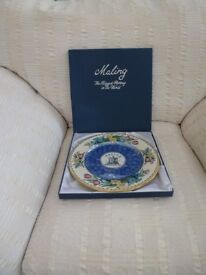 MALING COLLECTABLE PLATE