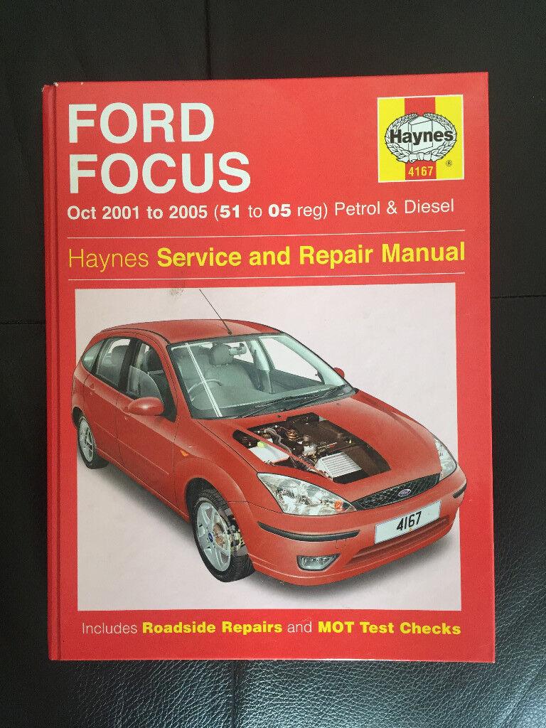 2001-2005 Ford Focus Haynes Workshop Manual