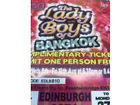 Lady boys of bangkok tickets