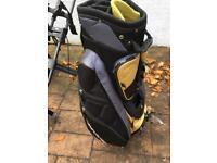 Golf trolley & bag