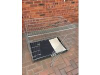 Heavy Duty Silver Pet Cage