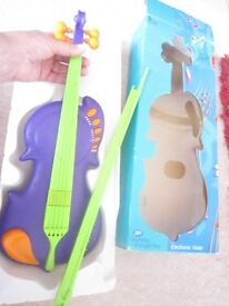 CHILDS EDUCATIONAL TOY VIOLIN