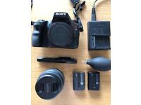 Sony SLT-A65V 24.3MP with 18-55mm Lens ~ for sale