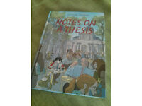 """Graphic novel """"Notes on a thesis"""" by Tiphaine Riviere"""