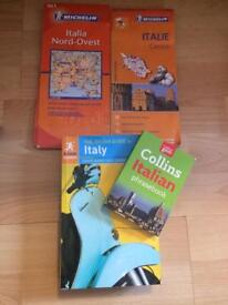 Italy - Rough Guide, Phrasebook & 2 Maps