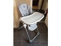 Chicco Polly Easy High Chair Mint condition
