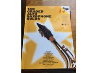 Saxophone books/ music