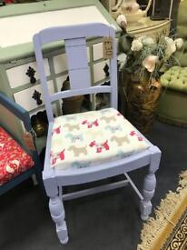 Shabby chic upcycled dining Chair