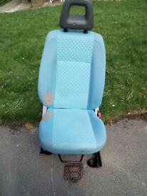 2006 Fiat Panda drivers seat