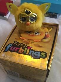 Limited Edition Gold Furby Furbling