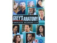 GREY'S ANATOMY - The complete seasons 1 - 9