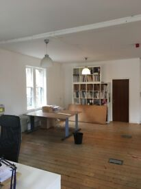 500 square feet approx in shared office space , central Edinburgh.