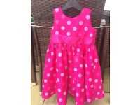 Girls party dress age 3/4