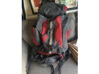 80L travelling backpack