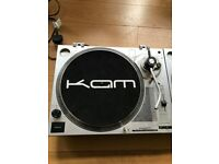 Kam DJ Turntables (TWO)