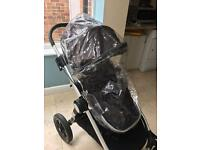 Baby jogger city select rain cover x2
