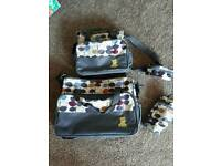 Travel and Changing bag set