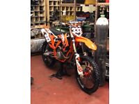 KTM 350 SXF VERY CLEAN BIKE WITH LOW HOURS