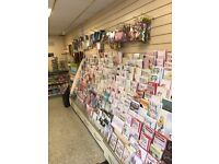Greeting cards stand