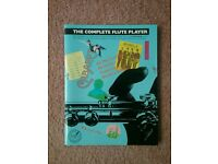 The complete flute player. Flute sheet music book