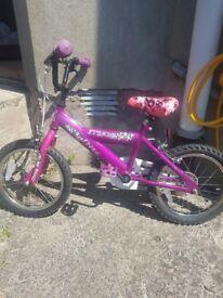 girl bike £30