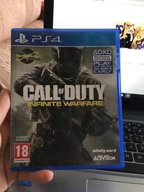 Call Of Duty Infinite Warfare - Like New.