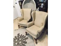 Pair of Parker Knoll armchairs