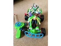 Toy Story remote control go kart