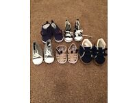 Boys pre walker and infant shoes bundle