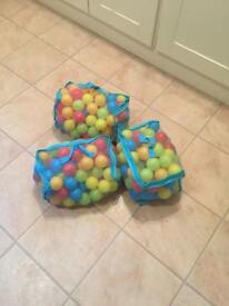Balls for a kids ball pit