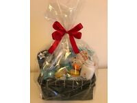 Gift basket baby born