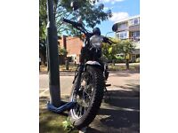 Sinnis Scrambler 125cc (With free Almax Immobiliser Series III + Squire SS65CS Stronghold Lock)
