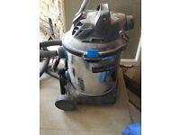 MAC ALLISTER WET and DRY WORKSHOP VACUUM MWVP30L, builders hoover, powerful vacuum cleaner