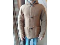 Men's Montgomery short duffle coat, size 40