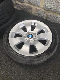 BMW Winter Tyres 225/45/17 almost new