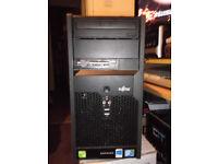 Fujitsu Esprimo Core 2 Quad Q8400 PC