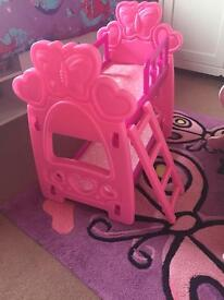 Toy bunk bed