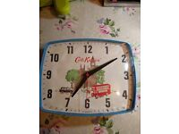 Cath kidston clock with battery