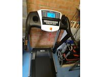 Treadmill with incline (Brand new, only switched on to see if worked)